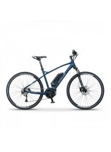 "Elektrobicykel krosový Apache Matto Bosch Active 400Wh modrá, 19"""
