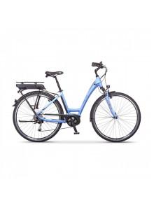 """Elektrobicykel mestský Apache Sota Bosch Active 400Wh modrá Lady, 18"""""""