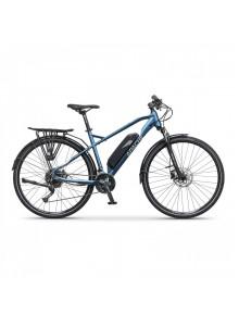 "Crossový elektrobicykel Apache Matto Tour E4 metal blue, 17"""