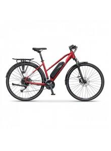 "Crossový elektrobicykel Apache Matta Tour E4 deep red, 18"""