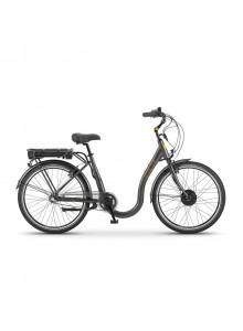 """Mestský elektrobicykel Apache Dakotah pearl gray, 18"""""""