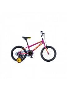 """Bicykel detský Apache 16"""" Cat ružová 2017"""