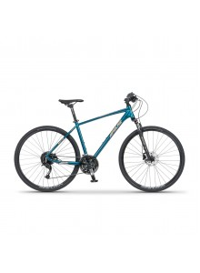 "Krosový bicykel Apache Matto A3 pearl petrol, 17"""