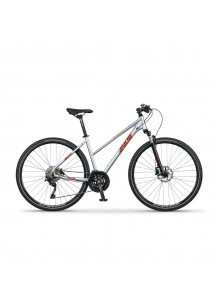 """Krosový bicykel Apache Matta A1 silver, 18"""""""