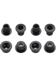 11.6215.193.080 - SRAM CHAINRING BOLT KIT 4X2 AL/ST BLACK Množ. Uni