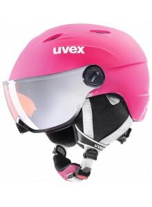 Helma UVEX JUNIOR VISOR PRO, pink mat (S566191900*) 52-54