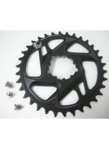 11.6218.030.290 - SRAM CR X-SYNC EAGLE CF 34T DM 6 OFF BLK Množ. Uni