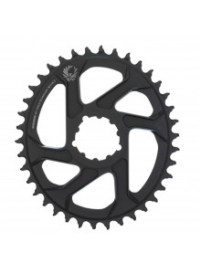 Prevodník SRAM CR X-SYNC EAGLE OVAL 38T DM 3 OFF B BLK