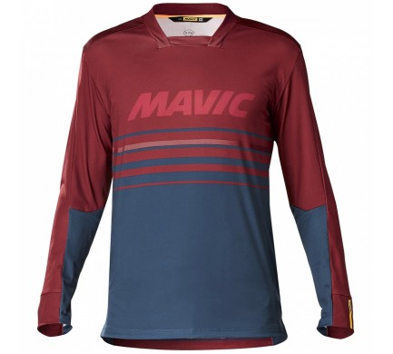 19 MAVIC DEEMAX PRO DRES S DL. RUKÁVEM RED DAHLIA/POSEIDON C11107 M