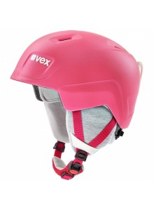 Helma UVEX MANIC PRO, pink met (S566224910*) 51-54