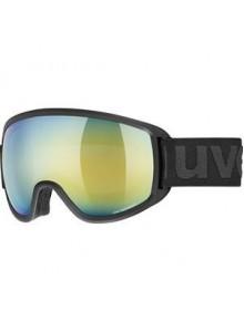 Lyžařské brýle UVEX TOPIC FM, black mat dl/orange-blue (2030) Množ. Uni