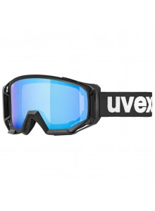 2021 UVEX ATHLETIC CV, BLACK MAT, MIRROR BLUE (2030) Množ. Uni