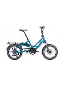 Skladací elektrobicykel TERN HSD P9 - modrá/sivá