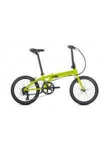 Skladací bicykel TERN LINK C8 - reflexná žltá/strieborná
