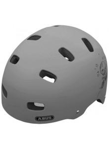 Cyklistická prilba ABUS Scraper concrete grey M