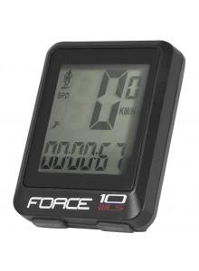 Bezdrôtový cyklocomputer Force WLS 10, čierny