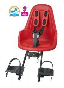 Detská sedačka Bobike ONE Mini - červená Strawberry