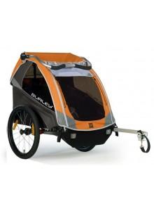 Burley D'Lite - odpružený detský vozík - oranžový