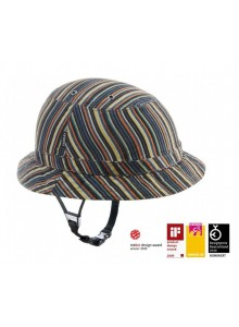 Cyklistická prilba Yakkay Tokyo Colour Stripe