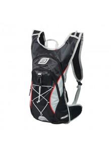 Cyklistický batoh Force Berry Pro Plus + rezervoár, čierno-sivý