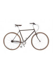 Elegantný mestský bicykel Kolos No.2, 53 cm hnedý