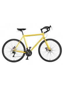 Pánsky turistický bicykel Kolos, Alfine, 62 cm, žltý