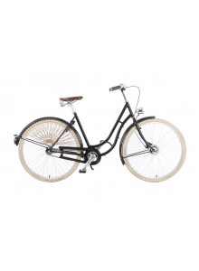 """Mestský bicykel v retro štýle Kolos No.1, 28"""", čierny"""