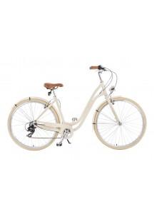 """Mestský bicykel Air 28"""" krémový"""