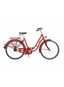 """Mestský bicykel v retro štýle Kolos No.1, 26 """", red"""