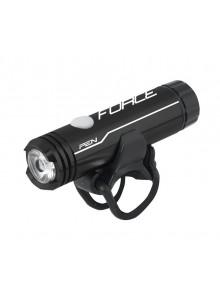 Predné svetlo na bicykel Force PEN 1 LED čierne