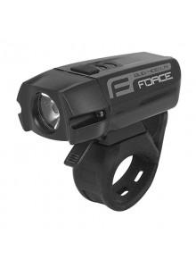 Predné svetlo Force BUG-400 USB čierne