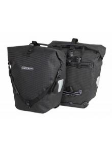 Ortlieb Back-Roller Highvisibility - zadné reflexné tašky čierne