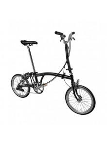 Skladací bicykel Brompton M6L čierny