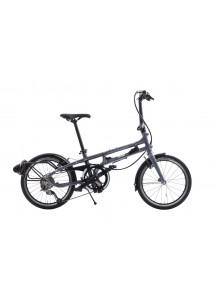 Skladací bicykel Tern BYB P8 2019 sivomodrá