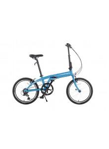 Skladací bicykel Tern Link A7 svetlo modrá