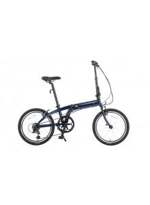 Skladací bicykel Tern Link A7 tmavomodrá