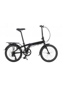 Skladací bicykel Tern Link C8 čierny