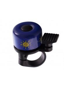 Zvonček na bicykel Cink malý modrý