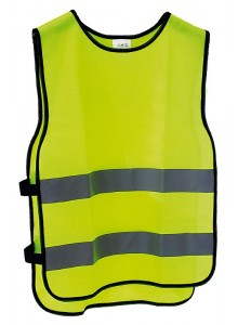 Reflexná bezpečnostná vesta XL/ XXl výška postavy 184-192cm, obvod hrudníka 110-140cm