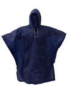 Pláštenka PVC pončo modrá