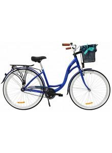 "Retro bicykel STORM Barcelona 28"" 1sp. 19"" modrý"