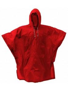 Pláštenka PVC pončo červená