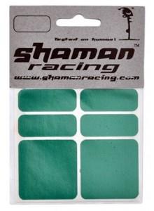 Samolepka SHAMAN reflexná zelená