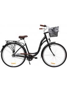 """Retro bicykel STORM Barcelona 28"""" 3sp. 17"""" čierny"""