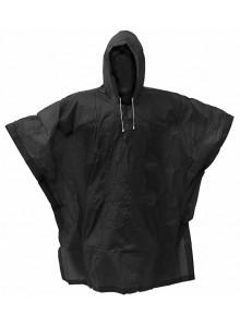 Pláštenka PVC pončo čierna