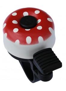 Zvonček mini bodky červený