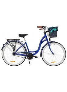"Retro bicykel STORM Barcelona 28"" 3sp. 17"" modrý"