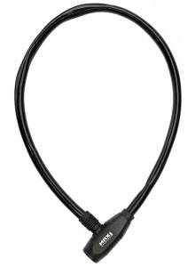 Zámok lanko MAX1 650 mm čierny