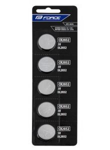 Batérie FORCE mincové CR2032 / 3V 1 x 5 ks