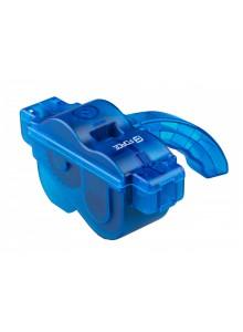 Čistička reťazí FORCE ECO plast. s rukoväťou, modrá